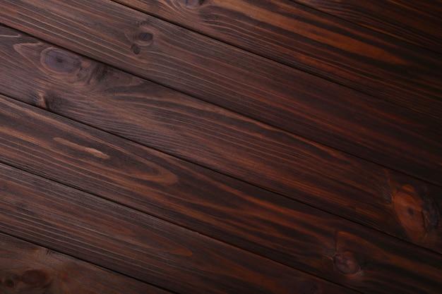 Brown drewniany tło lub drewniana tekstura, drewniana deska