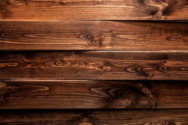 Brown drewniany tło lub tekstura