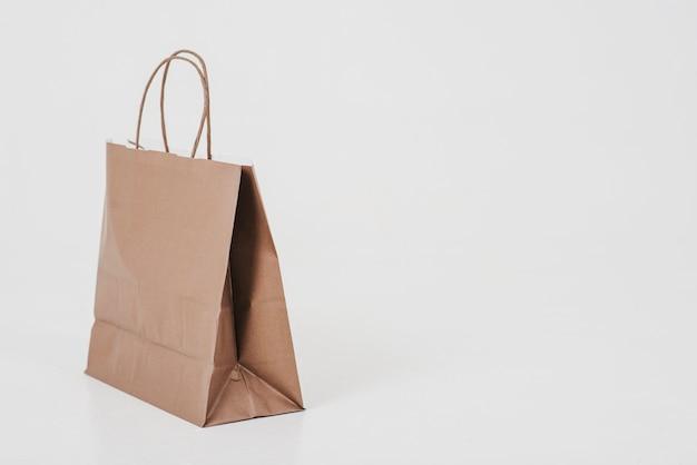 Brown papierowa torba