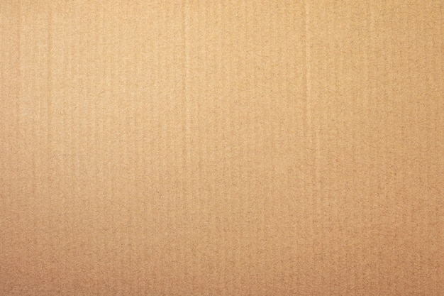 Brown papieru tekstura lub kartonowy tło