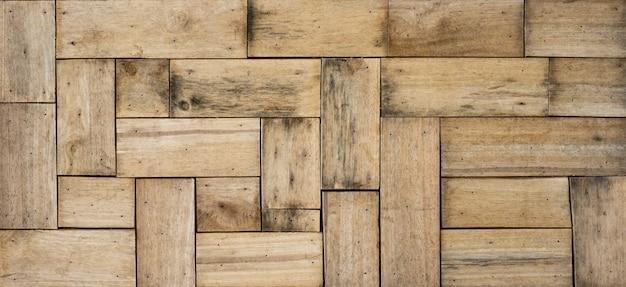 Brown tekstury drewniany tło przychodzi od naturalnego drzewa. drewniany panel z pięknymi wzorami. ściany i wnętrze domu