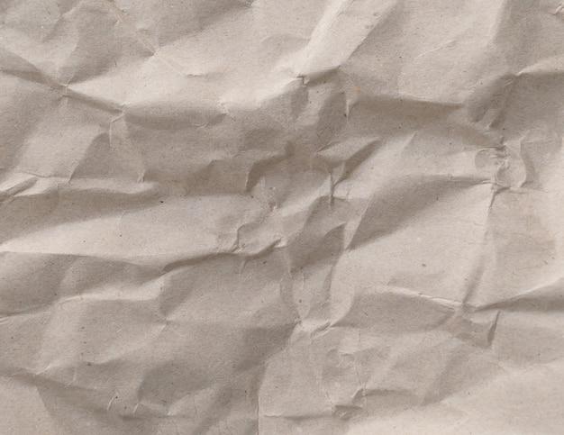 Brown zmięty papierowy tekstury tło