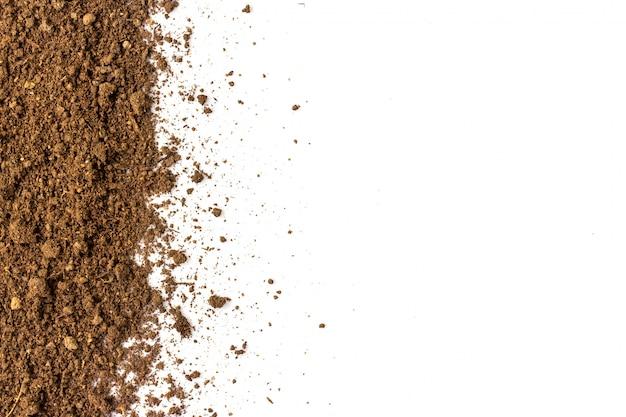 Brudna ziemia naturalna tekstura gleby