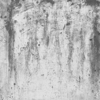 Brudny betonowy mur