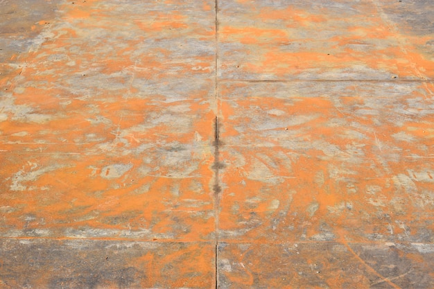 Brudny metal podłogi tło płyty