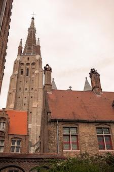 Brugii kompleks średniowiecznego szpitala św. jana