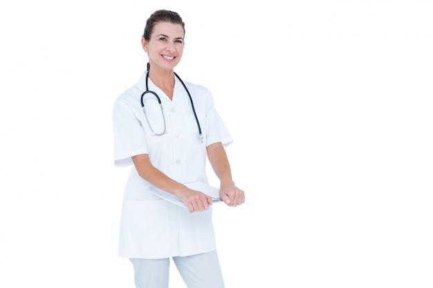 Brunetka lekarz kobieta