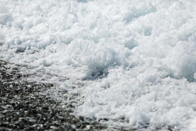 Bryzgająca fala morska