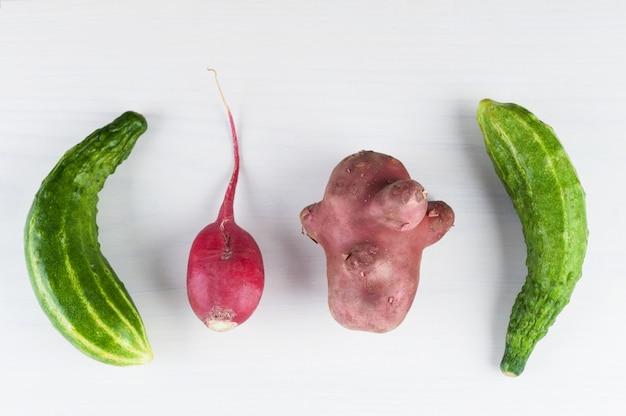 Brzydkie warzywa.