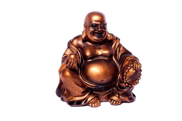 Budda na białym tle