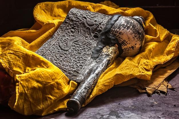 Buddyjski instrument religijny dung-dkar