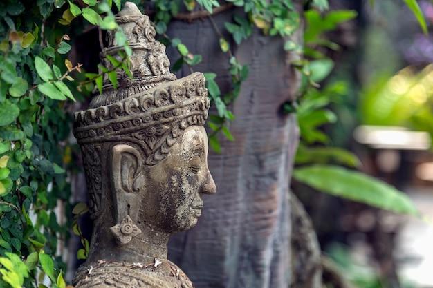 Buddyzm dla posągów lub modeli portretu buddy