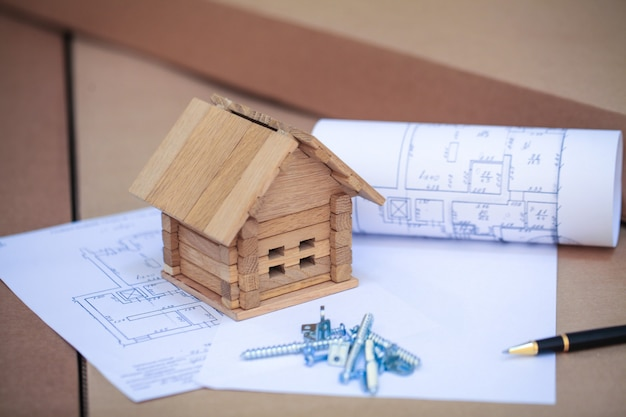 Budowa domu na plany z pracownikiem - projekt budowlany