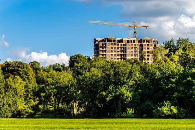 Budowa kompleksu mieszkalnego