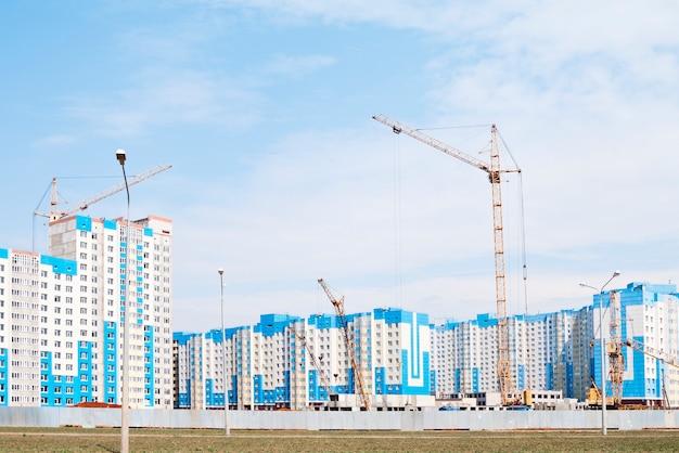Budowa nowego kompleksu mieszkaniowego