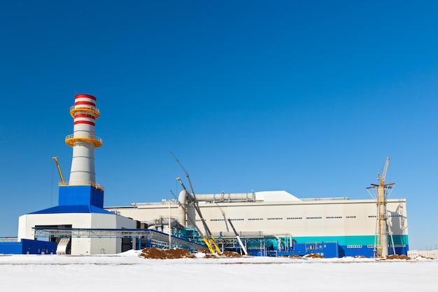 Budowa zakładu metalurgicznego