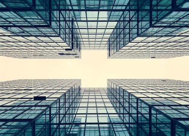 Budowanie geometrii budowy biznesu miasta