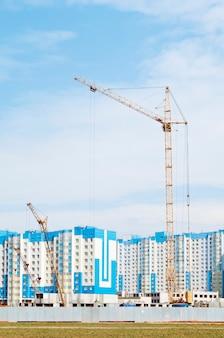 Budownictwo miejskie. nowe budynki