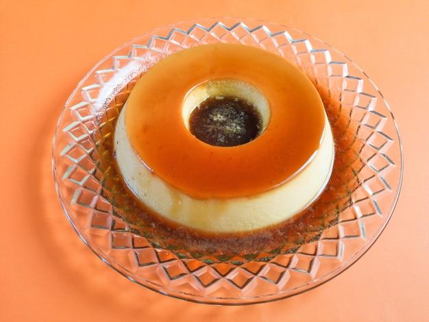 Budyń mleczny typowy brazylijski deser.