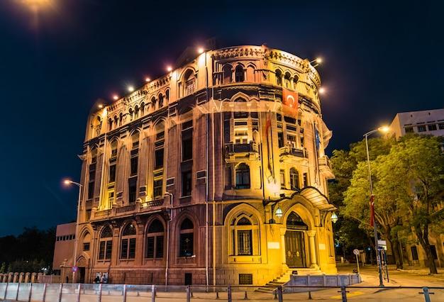 Budynek administracyjny w centrum miasta ankara, turcja