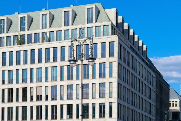 Budynek biurowy w berlinie, niemcy