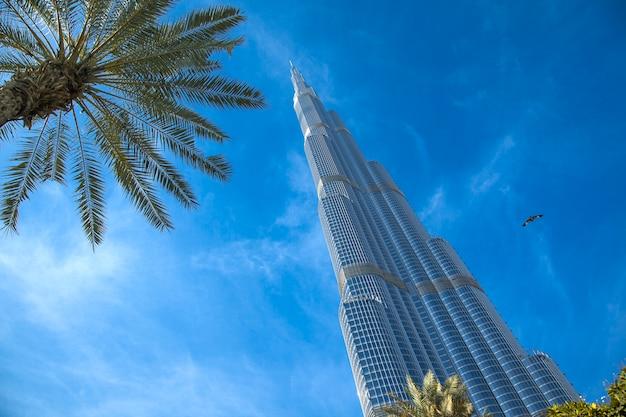 Budynek burj khalifa w dubaju