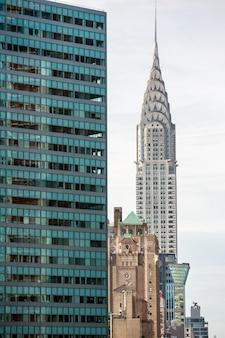 Budynek chryslera i architektura manhattanu
