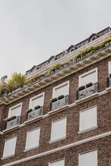 Budynek mieszkalny w mieście