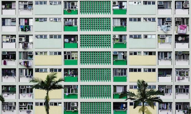 Budynek mieszkaniowy miasto urban