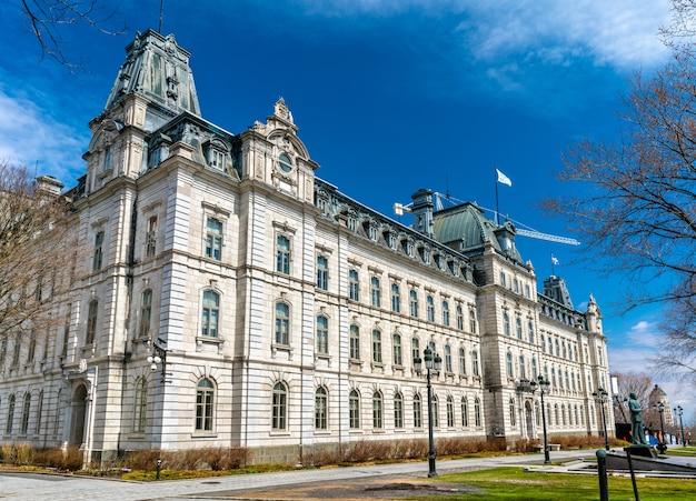 Budynek parlamentu quebec w mieście quebec - kanada