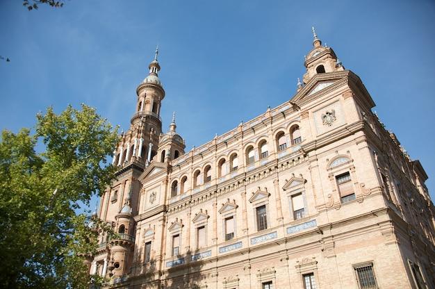 Budynek plaza de espana
