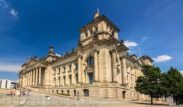 Budynek reichstagu w berlinie, niemcy