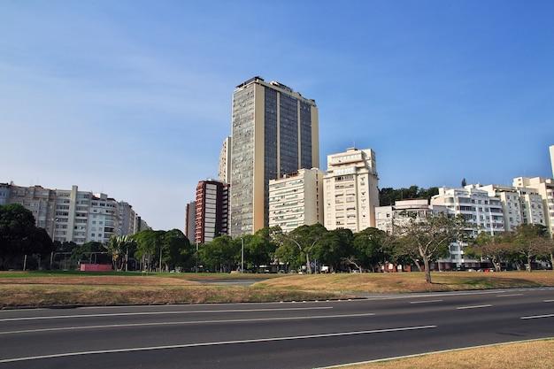 Budynek w rio de janeiro, brazylia