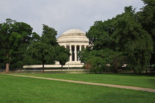 Budynek w waszyngtonie, stany zjednoczone