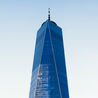 Budynek wieżowca wysokiego biznesu