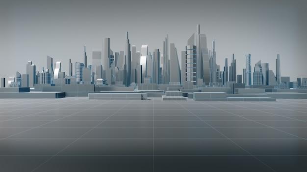 Budynki 3d o niskich wielokątach