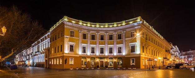 Budynki na bulwarze primorskiy w odessie na ukrainie