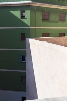 Budynki publiczne. widok zewnętrzny budynków