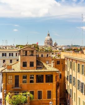Budynki w centrum rzymu