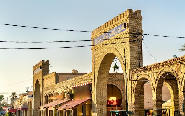Budynki w medynie tozeur tunezji