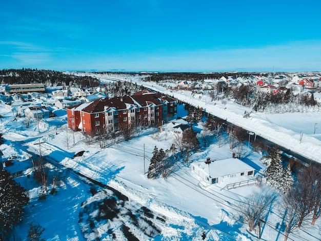 Budynki w okresie zimowym