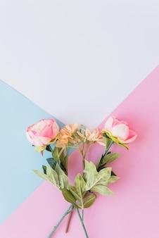 Bukiet delikatnych kwiatów