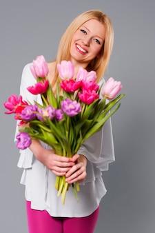 Bukiet kwiatów dla ciebie