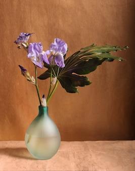 Bukiet kwiatów irysa