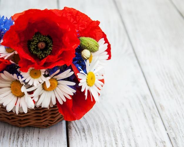 Bukiet kwiatów polnych