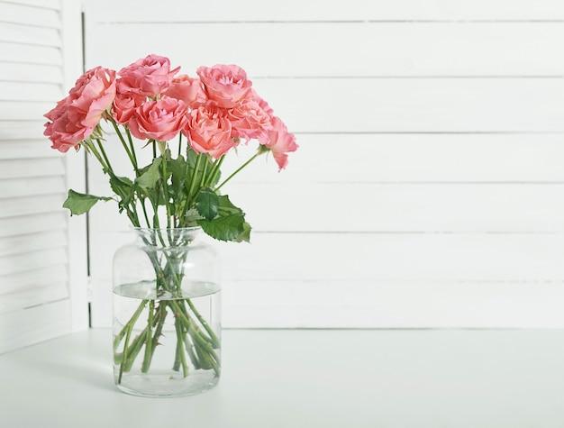 Bukiet kwiatów róż