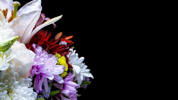 Bukiet kwiatów z gerbery