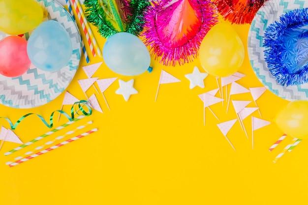 Bukiet ozdób urodzinowych