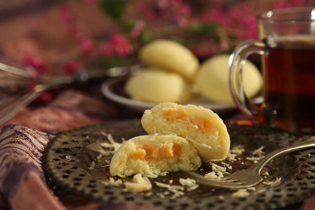 Bułeczki na parze wypełnione serem