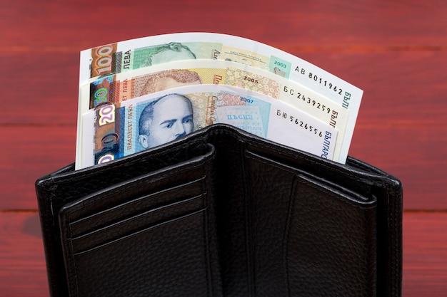 Bułgarski lew w czarnym portfelu